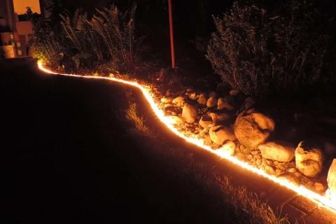Randleiste Mit Licht