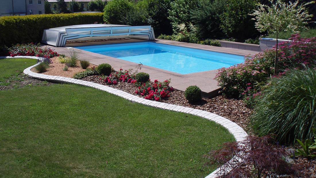 Pool und teicheinfassungen die randleiste for Garten pool intex
